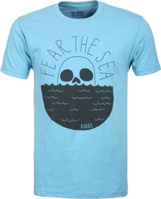 Roark Fear The Sea T-Shirt - glacier blue - view large