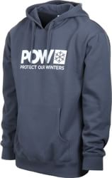 Protect Our Winters Classic POW Logo Hoodie - pacific