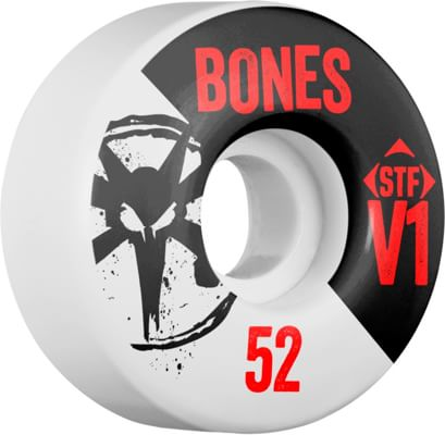 Bones STF V1 Skinny Bones Skateboard Wheels - view large