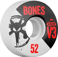 Bones STF V3 Slim Bones Skateboard Wheels - white 2014 (83b)