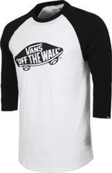 Vans OTW Raglan 3/4 Sleeve T-Shirt - white/black