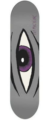 Toy Machine Sect Eye 7.875 Skateboard Deck - grey - view large