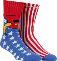 Toy Machine American Monster Sock - usa
