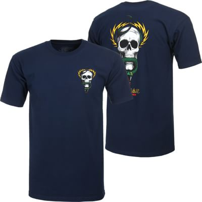Powell Peralta McGill Skull & Snake T-Shirt - navy - view large