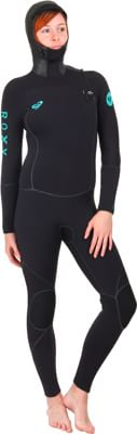 Roxy Cypher 5/4/3mm Hooded Women's Wetsuit - black - view large