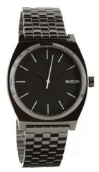 Nixon Time Teller Watch - polished gunmetal/lum