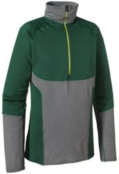 Patagonia Capilene 4 Pro Zip-Neck - malachite green/nickel-grey x-dye