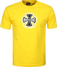 Independent Truck Co. T-Shirt - yellow