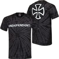 Independent Bar/Cross T-Shirt - spider black