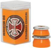 Independent Genuine Standard Conical Cushions (2 Truck Set) - orange (medium)