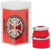 Independent Genuine Standard Cylinder Cushions (2 Truck Set) - red (soft)