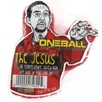 One Ball Jay The Jesus All-Temp Snowboard Wax - red