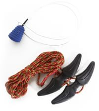 Burton Speed Zone Boot Lace Kit - rasta