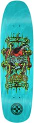 Black Label Emergency Lucero X2 8.88 Skateboard Deck - teal