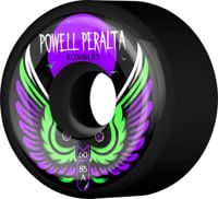 Powell Peralta Bombers 3 Skateboard Wheels - black 60 (85a)