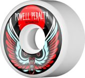 Powell Peralta Bombers 3 Skateboard Wheels - white (85a)