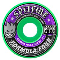 Spitfire Formula Four Conical Full Skateboard Wheels - hot green (99d)
