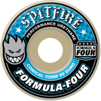 Spitfire Formula Four Conical Skateboard Wheels - white (99d)