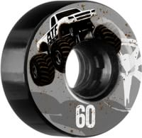 Bones ATF All-Terrain Formula Skateboard Wheels - mudder fudder black (80a)