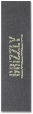 Grizzly Stamp Print Perforated Skateboard Grip Tape - view large