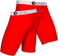 Ethika Staple Boxer Brief - red