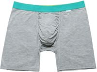 MyPakage Weekday Boxer Brief - heather/seafoam/yellow
