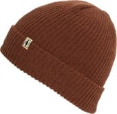 Girl OG Fold Beanie - brown