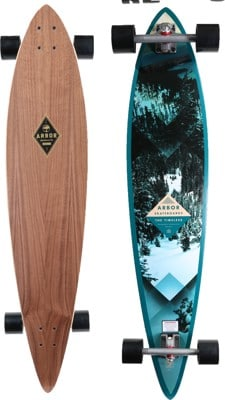 "Arbor Timeless Pin Walnut 46"" Complete Longboard - view large"