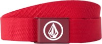 Volcom Circle Web Belt - drip red