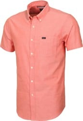 RVCA That'll Do Oxford S/S Shirt - red clay