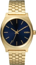 Nixon Time Teller Watch - all light gold/cobalt