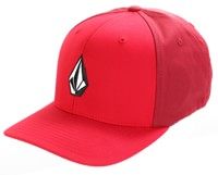 Volcom Full Stone Flexfit Hat - drip red