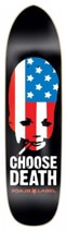 Black Label Choose Death 8.62 Punk Point Skateboard Deck
