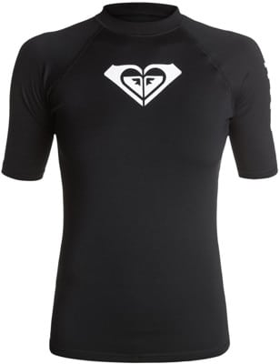 Roxy Whole Hearted Short Sleeve Rash Guard - view large