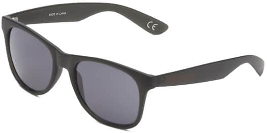Vans Spicoli 4 Shades Sunglasses - black frosted translucent - view large