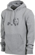 Enjoi Tonal Panda Hoodie - heather grey