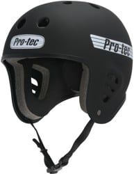 ProTec Full Cut Skate Helmet - rubber black