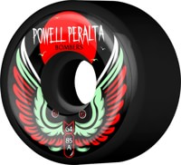 Powell Peralta Bombers 3 Skateboard Wheels - black 64 (85a)