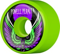 Powell Peralta Bombers 3 Skateboard Wheels - green 60 (85a)