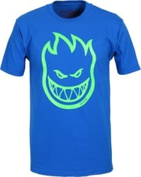 Spitfire Bighead T-Shirt - royal/neon green