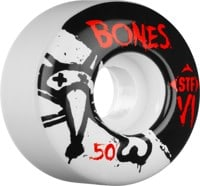 Bones STF V1 Skateboard Wheels - white (83b)