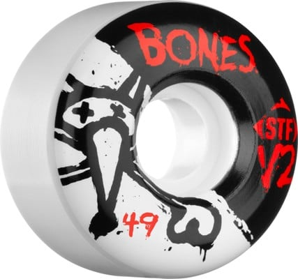 Bones STF V2 Skateboard Wheels - white (83b) - view large