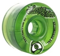 Sector 9 70mm Nineball Longboard Wheels - green v1 (78a)