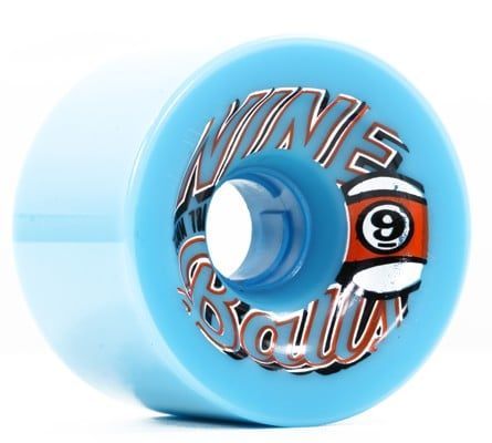 Sector 9 74mm Nineball Longboard Wheels - blue (78a) - view large
