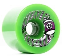 Sector 9 74mm Top Shelf Nineball Longboard Wheels - green (78a)