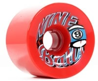 Sector 9 74mm Top Shelf Nineball Longboard Wheels - red (78a)