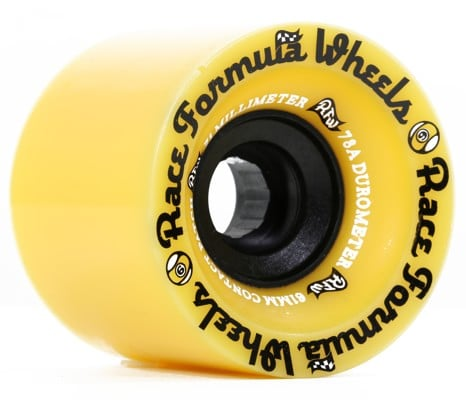 Sector 9 Race Formula 71mm Longboard Wheels - yellow (78a) - view large