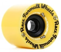 Sector 9 Race Formula 71mm Longboard Wheels - yellow (78a)