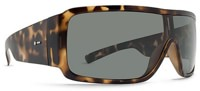Dot Dash Chalube Sunglasses - tortoise satin/retro grey lens