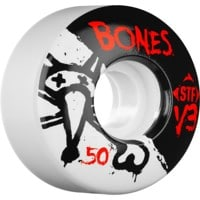 Bones STF V3 Skateboard Wheels - white (83b)